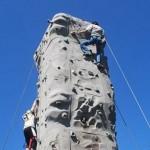 ACHIEVA ROCK CLIMBING WALL